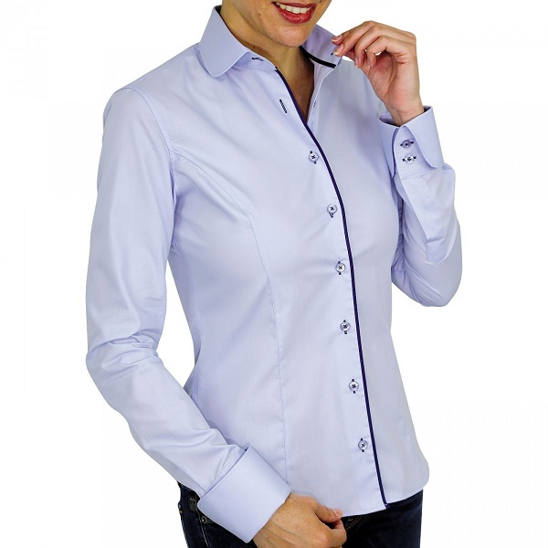 Nouvelle collection de chemises femme les chemises unies for Nettoyer un col de chemise