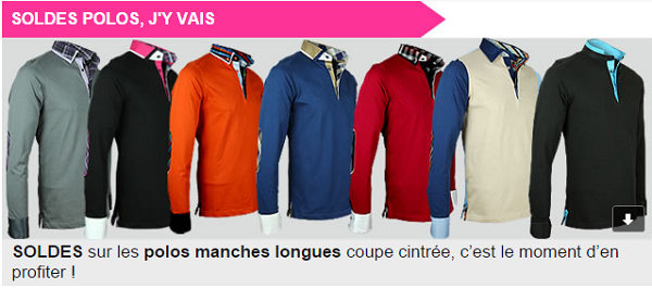 Soldes Polos