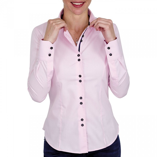 chemise-a-doubles-boutons-rose-twice-qf2am2